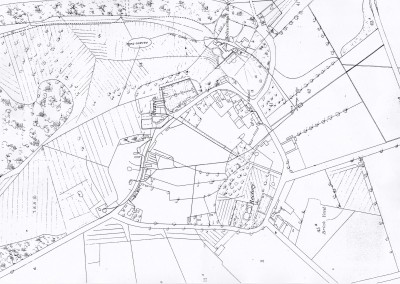 1866 Drainage Map of Holme