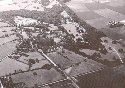 Aerial view Holme 1944