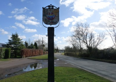 Holme Village Sign Station Road