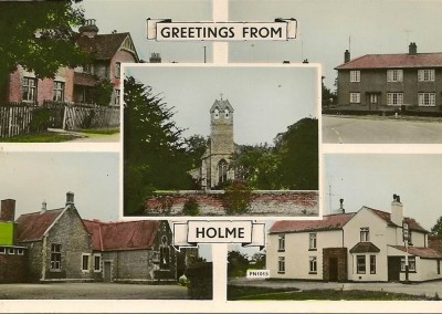 Post card from Holme
