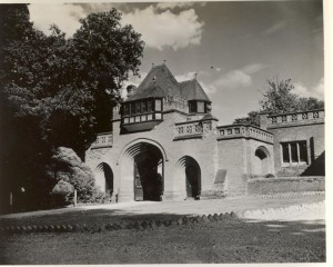 The Gatehouse at Holmewood Hall, picture taken by one of the US servicemen in 1944.